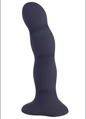 Dildo - Fun Bouncer dildo svart - bilde