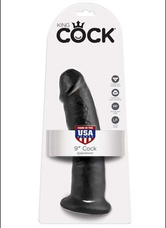 Dildo - King Cock dildo sort - bilde