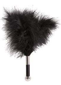 - Kilefjær Mini Feather Tickler sort - bilde