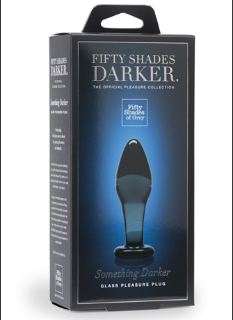 Analsex - Fifty Shades Darker buttplug glass - bilde