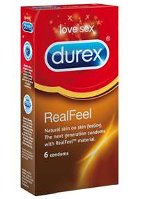 - Kondomer Durex Real Feel lateksfrie - bilde