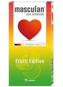 - Masculan Fruity Edition 10 Pk - bilde
