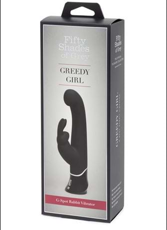 Vibrator - Fifty Shades Greedy Girl rabbitvibrator - bilde
