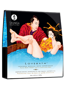 - Shunga Bath Powder Salt Ocean - bilde
