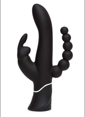Sexleketøy for henne - Rabbitvibrator Happy Rabbit Triple - bilde