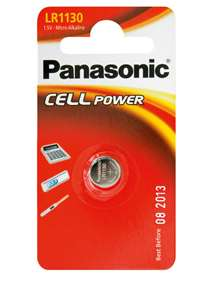 - Panasonic batteri LR54 Cell 390 - bilde