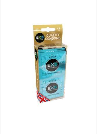 Kondom - Kondomer EXS Air Thin 12 pk - bilde
